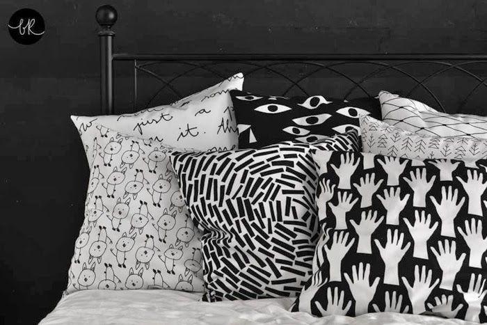 Henrike Schoen textile design black&white