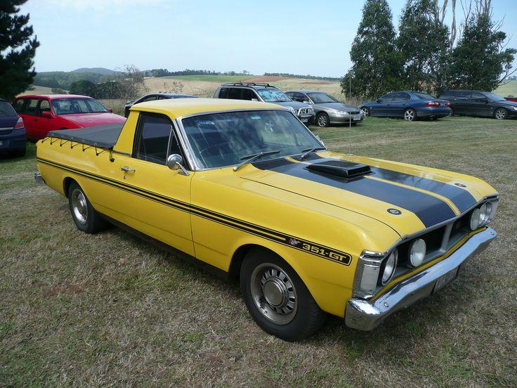 Toutes les tailles | 1970 - 72 Ford XY Falcon Ute | Flickr: partage de photos!