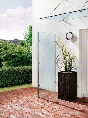 Die 25+ Besten Ideen Zu Vordächer Aus Glas Auf Pinterest ... Glas Fassade Spiegelfassade Baumhaus