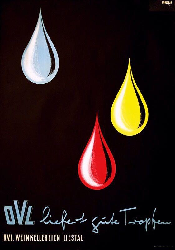 OLV Weinkellereien poster 1956