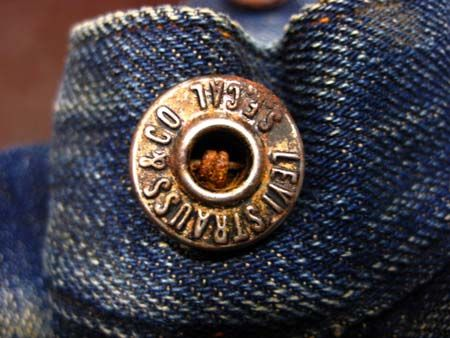 Levi Strauss Lot 203, 1890's