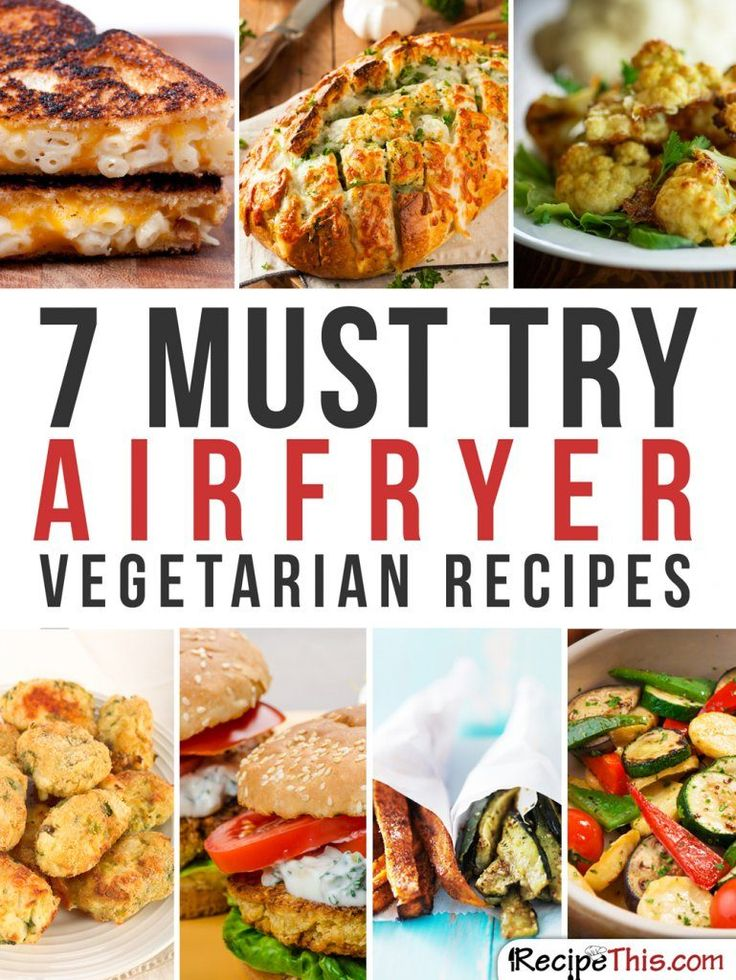 Airfryer Vegetarian Recipes – 7 Magical Ways To Cook Vegetables In The Airfryer