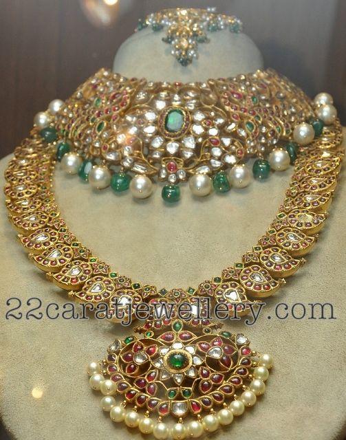 Mango Necklace by Tarun Tahiliani   Jewellery Designs