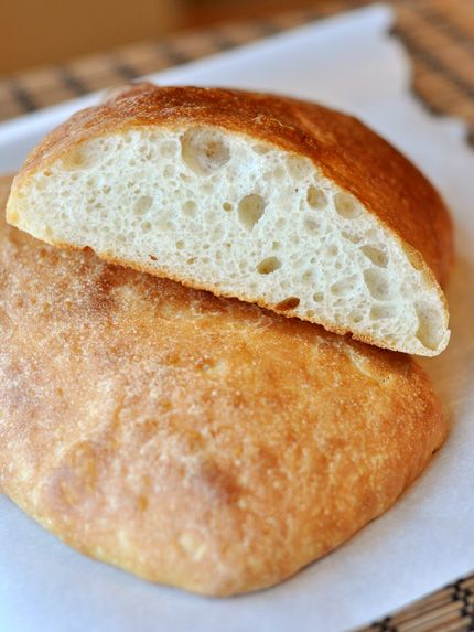 Homemade Ciabatta Bread {And The Best Garlic Bread On Earth} | Mel's Kitchen Cafe