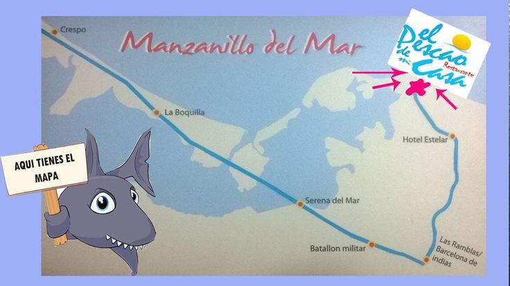 Map!!! Como llegar al Pescao de Mi Casa!!!
