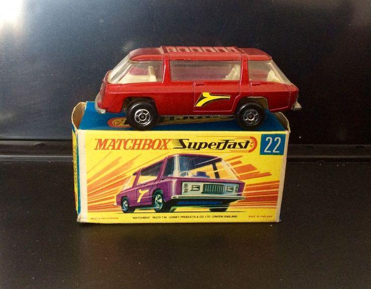 Vintage 1970 Matchbox 22 Superfast Freeman Inter-City Toy Car With Original Box | eBay