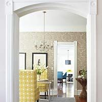 Architectural Details: Interior Design, Dining Rooms, Eye Catching Entryway, Decor, Ideas, Dream House, Wallpaper, Architectural Details