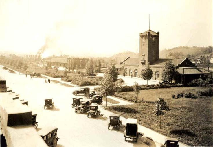 Kingsport TN's train station around 1925 Kingsport