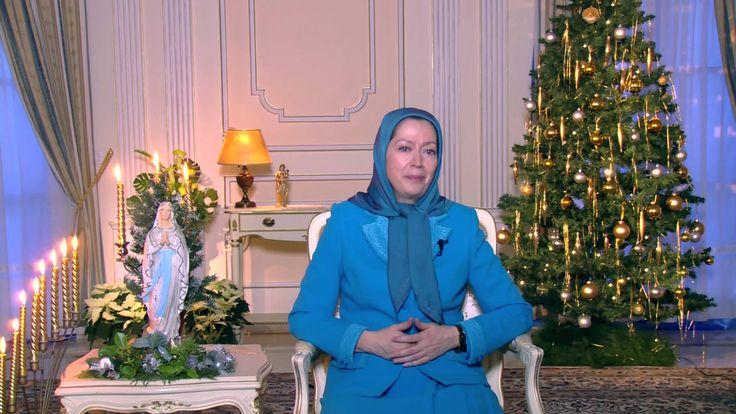 Maryam Rajavi's Christmas and New Year's greeting   2015