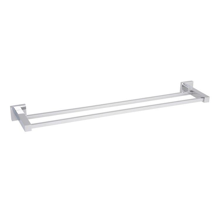 The 25 best double towel rails ideas on pinterest towel rail bathroom towel rails and - Bathroom accessories towel rail ...