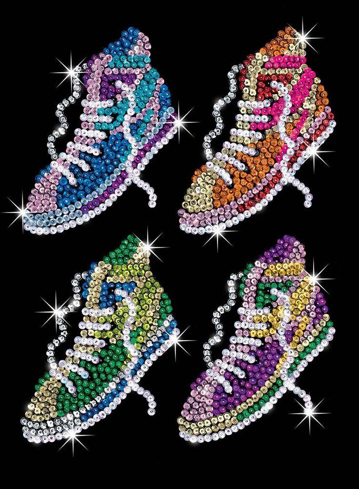KSG Street Feet Sequin Art: Amazon.co.uk: Toys & Games