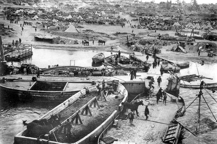 Cape Helles, Gallipoli, 6 May 1915. Image by Wikimedia Commons