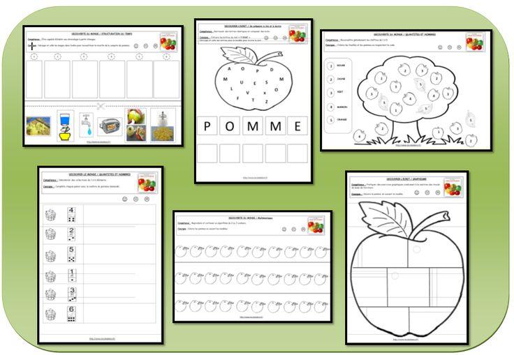 activités sur les pommes en maternelle - Recherche Google …