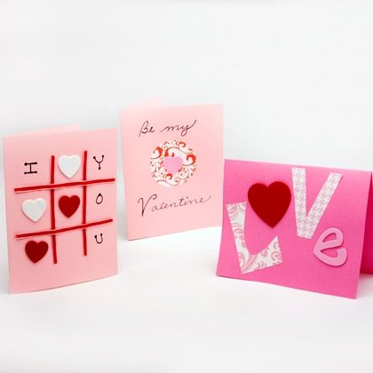 homemade valentines day cards | 28 Valentine's Day Crafts for Kids - Crafts by Amanda