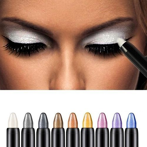 New Hot 1pc Beauty Highlighter Eyeshadow Pencil Cosmetic Glitter Eye Shadow Eyeliner Pen