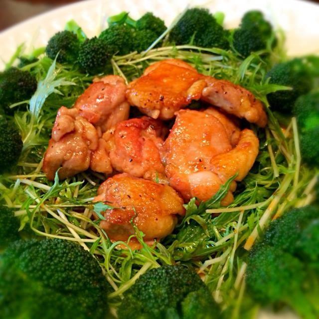 ご飯にもお酒にも合います♪ - 16件のもぐもぐ - 鶏肉のはちみつ照り焼き by heeko