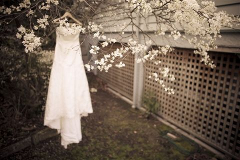 Tinted Photography Winter #Wedding Dress
