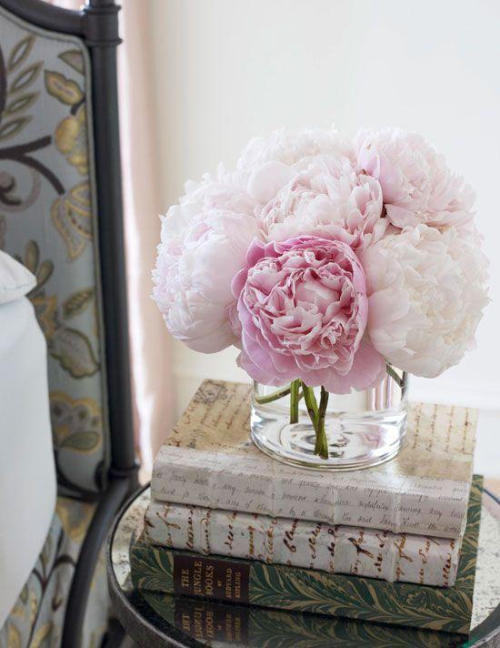 Flowers in the bedroom…lovely.