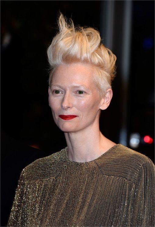 Tilda Swinton - Acconciature capelli corti