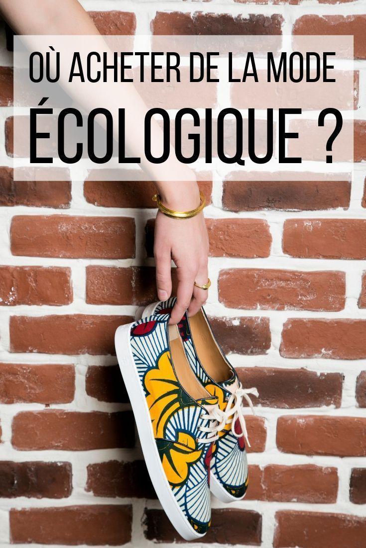 Où acheter de la mode éthique et écologique ? Le information des e-shops français !