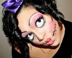 Znalezione obrazy dla zapytania makijaż halloween