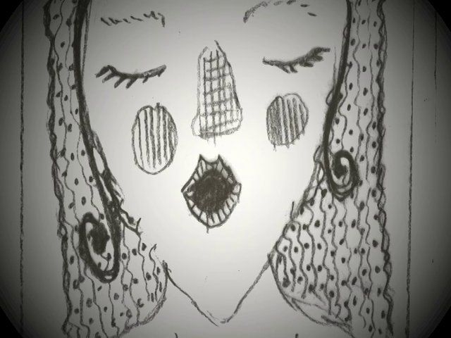 """elephants were dancing on her chest"" - hand-drawn animation I created on how asthma affects me"