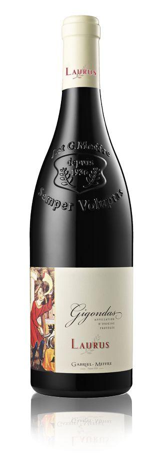 Vin de la gamme Laurus - Gigondas - Rouge - 2014 | Gabriel Meffre