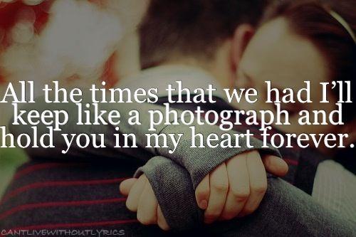 I'll Always Remember You-Hannah Montana.