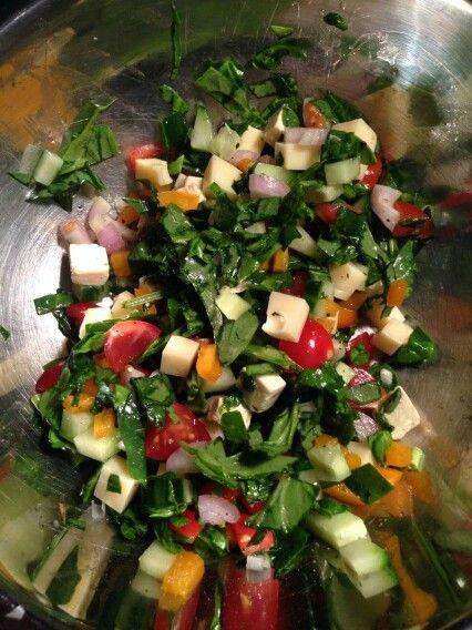 Spinache medley salad x