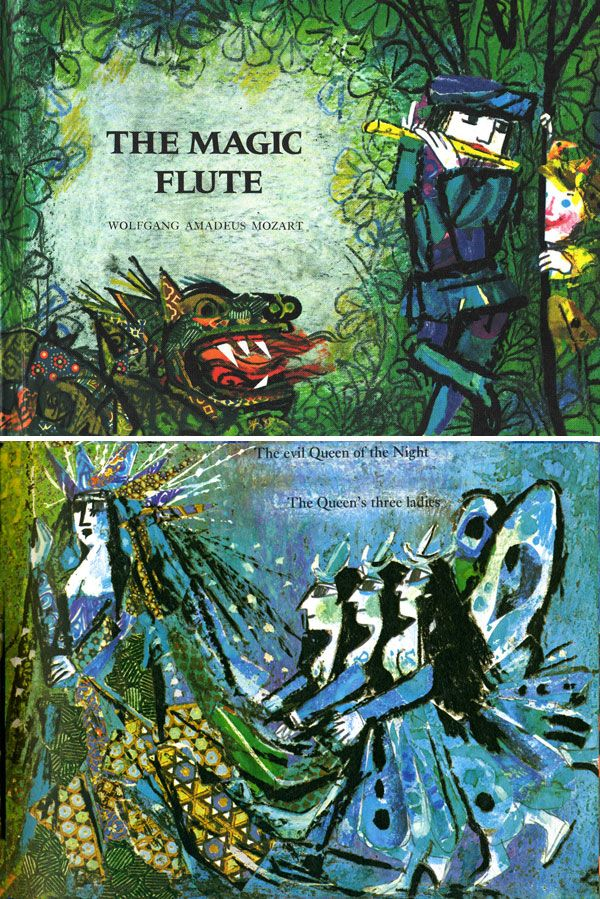 The Magic Flute, adapted and illustrated by Emanuele Luzzati