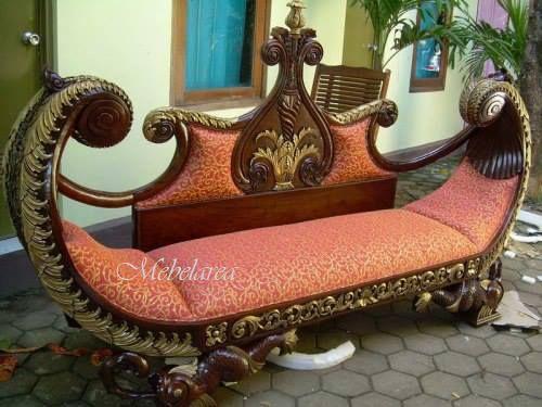 Sofa Unik Model Perahu