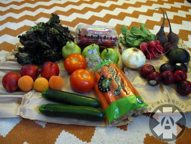 Door To Door Organics Review by The Allergista. Door To Door is kinda like an organic Peapod grocery delivery service!