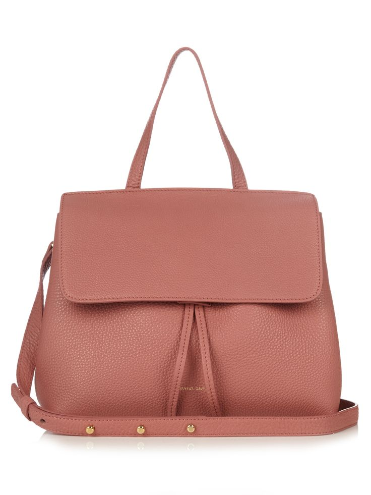 Mini Lady top-handle leather bag | Mansur Gavriel | MATCHESFASHION.COM