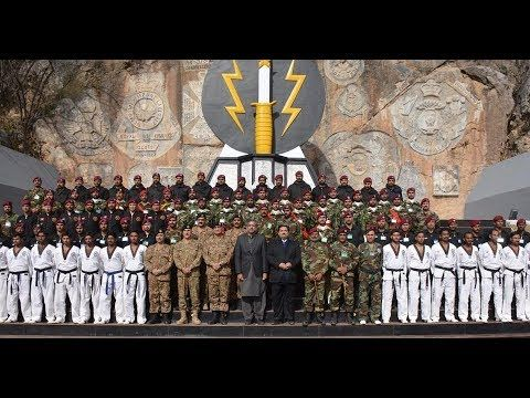 PM & COAS visit SSG HQ at Cherat Home Of Pakistan Army Special Service G...