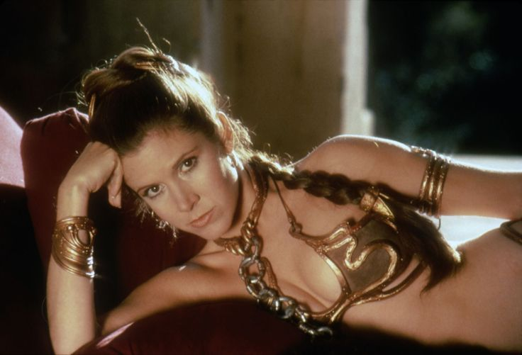 ENCHÈRES - Le costume de la sœur de Luke Skywalker alors esclave de Jabba The Hutt sera vendu à la fin du mois lors d'une vente aux enchères. La pièce est estimée entre 80.000 et 120.000 dollars.