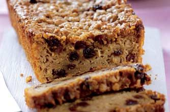 Phil Vickery's easy apple and sultana teabread