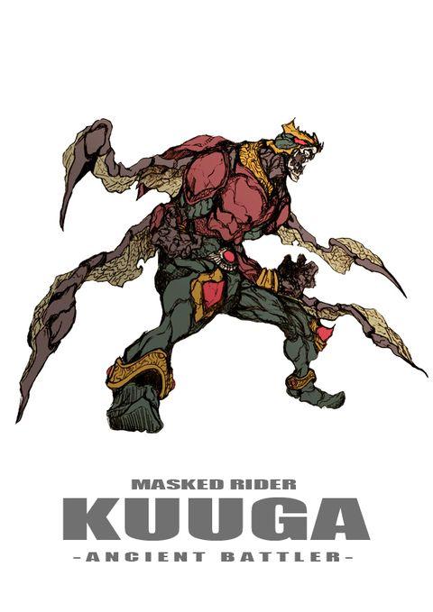 「仮面ライダークウガ ANCIENT BATTLER」/「zakkizaki」のイラスト [pixiv]
