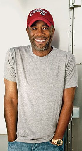 Darius Rucker. Such a crush.