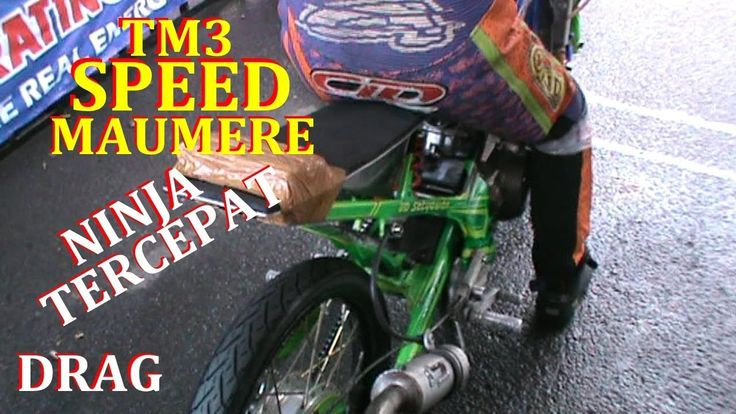 NINJA TERCEPAT Team TM3 SPEED MAUMERE | VIDEO DRAG BIKE
