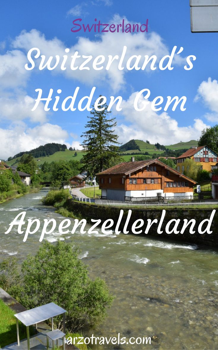 Appenzell - the hidden gem in Switzerland Travel Inspiration for  Appenzell and Appenzellerland in Switzerland. An itinerary for 2 days, The Aescher