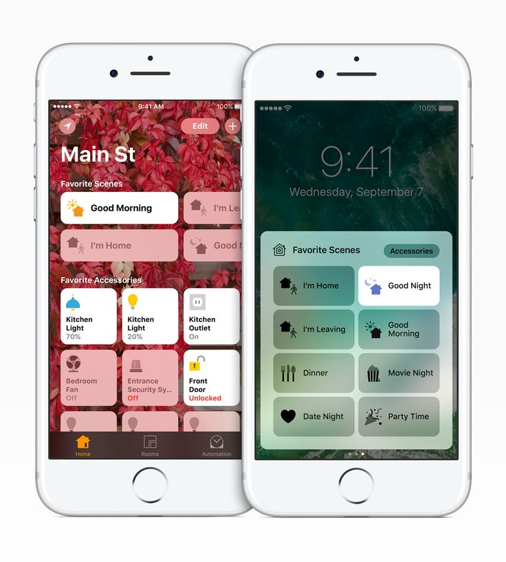 HomeKit is Apple's own smart home IoT framework. Built for manufacturers and developers, it can turn the iPhone into a smart home remote. With HomeKit functionality, you're able to control smart home products through iOS apps and Siri voice commands. Read more: http://www.macworld.co.uk/feature/apple/best-homekit-smart-home-products-for-iphone-owners-3595738/