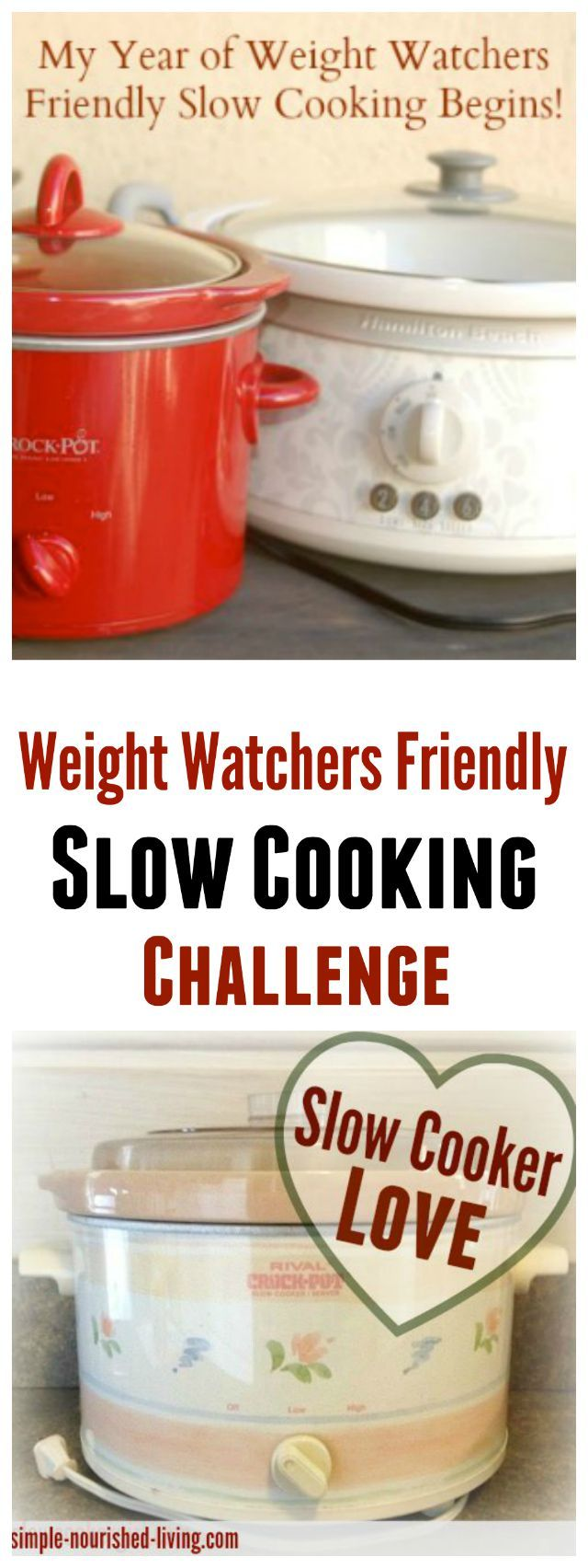 My Year of Weight Watchers Friendly Slow Cooking Challenge. I need to try this