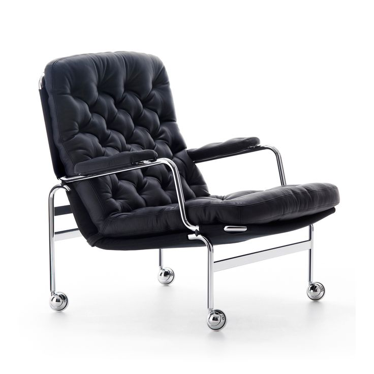 Karin 73 lænestol Kariba fra DUX, designet af Bruno Mathsson. Denne lænestol blev producer...