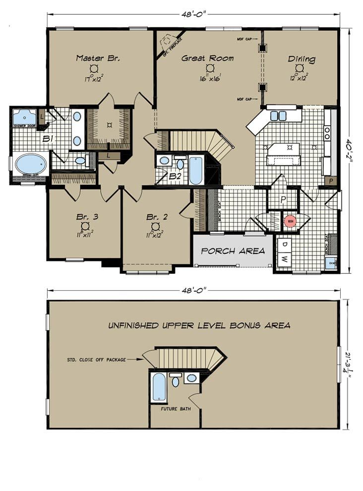 Floor plans dresden manufactured and modular homes for Floor plans for my home