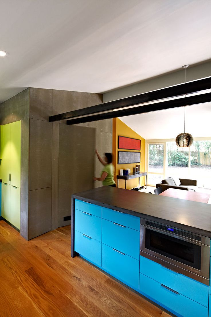 Mid century modern transitional kitchen atlanta by beauti faux - 361 Best Mostly Mid Century Modern Interior Decorating Images On Pinterest
