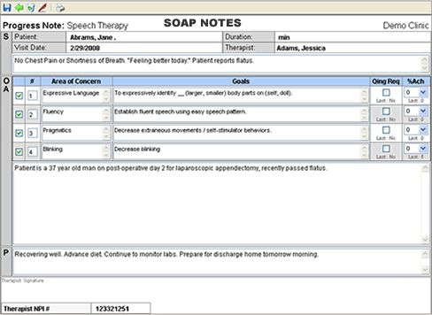 soap documentation template - 69 best speech therapy documentation images on pinterest