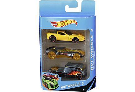 Autosetti Hot Wheels 3 kpl/paketti, 7,90 e