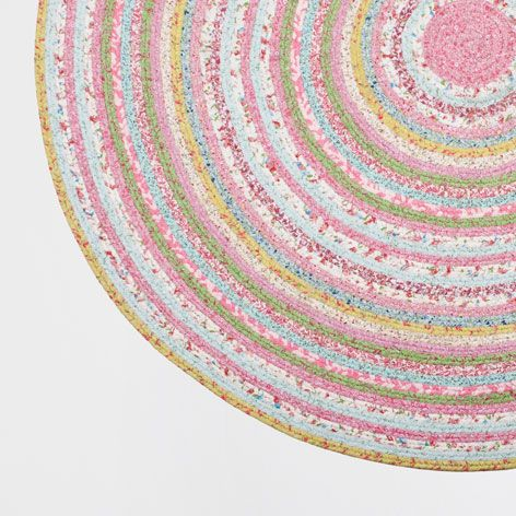 Kids Circular Multicoloured Rug - Rugs & Curtains - Bedroom | Zara Home Germany