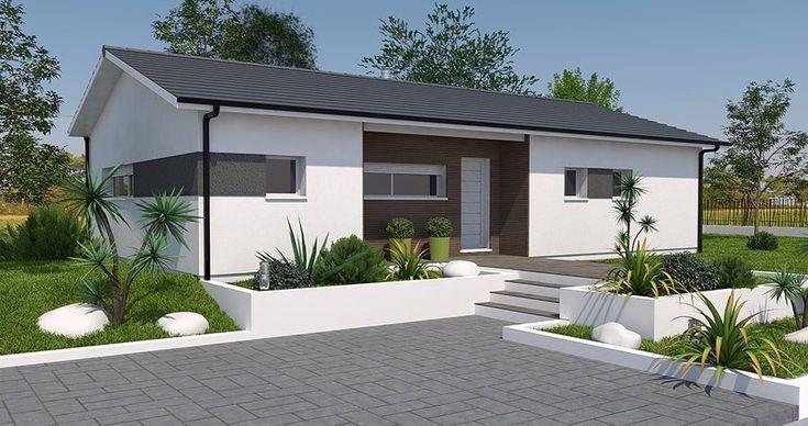 Présentation des principaux constructeurs de Gironde Modèles et - plan de maison moderne 3d
