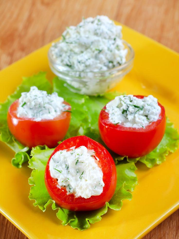 Przepis na pomidory z białym serem
